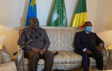 Les Présidents Félix Tshisekedi et Denis Sassou N'guesso condamnent les massacres à l'Est de la RDC