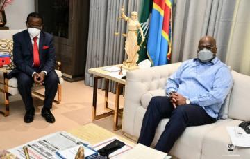 Union sacrée de la nation : Bahati Lukwebo et Mboso Nkodia reçus par le président Félix Tshisekedi