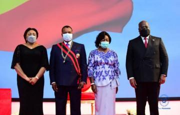 Félix Tshisekedi a pris part à l'investiture de con homologue Denis Sassou Nguesso