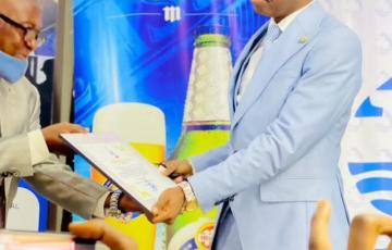 Nord-Kivu : Le député Promesse Matofali primé par Grand Kivu Magazine